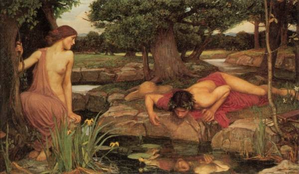 Waterhouse Echo and Narcissus